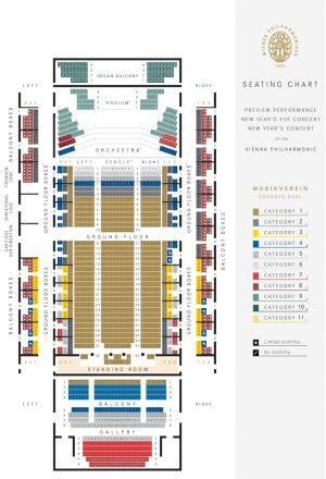 Musicverein seating plan