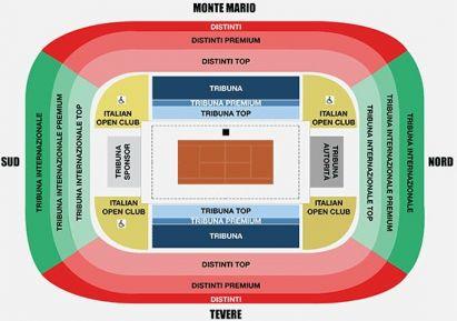 ATP Rome seat